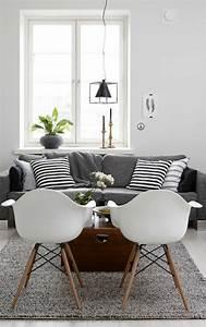 deco nordique et tapis gris avec canape gris et coussins With tapis persan avec canape gris moderne