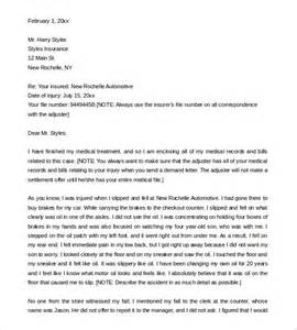 Personal Injury Demand Letter Template