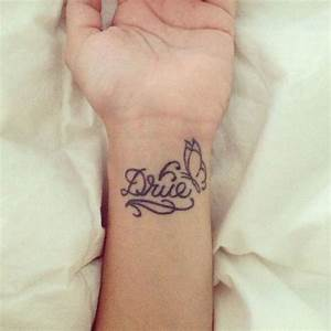 17 Best images about Wrist tattoos on Pinterest | Names ...