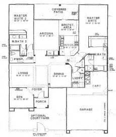 floor plans with 2 master bedrooms sun city vistoso floor plan hton model floor plan