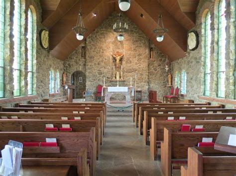 The Interior Sanctuary Of St Malo Chapel Picture Of