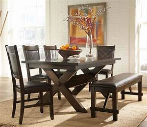 Awesome Dinette Sets With Bench  U2013 Homesfeed
