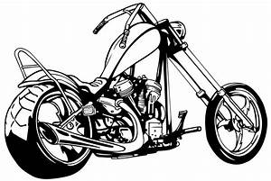 Motorcycle Tribal Clipart Black And White | Clipart Panda ...