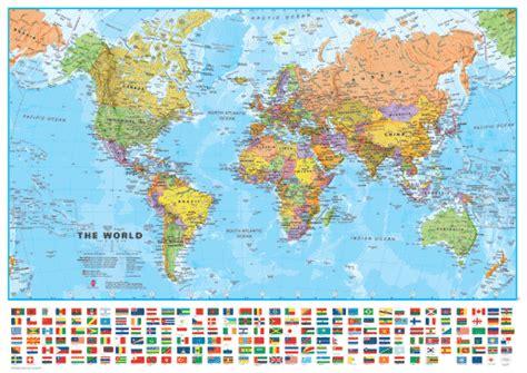 Hauptstädte Der Welt Karte