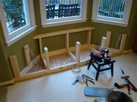 angled window seat   making   similar size