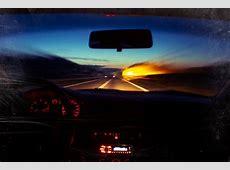 Wallpaper sunset, night, red, reflection, sky, music