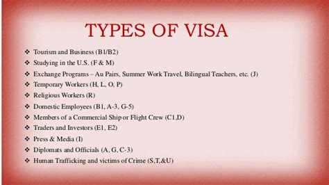 How To Get A Visa For Usa