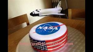 NASA Space shuttle Discovery 3D Cake - YouTube