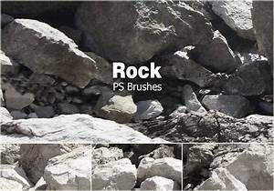 Boulders Free Brushes - (31 Free Downloads)