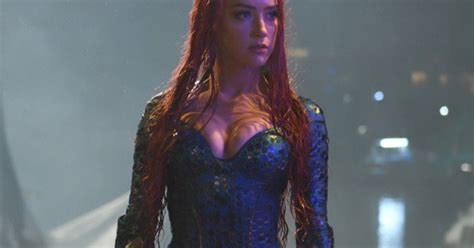 Another Look At Amber Heard As Mera In Aquaman Movie