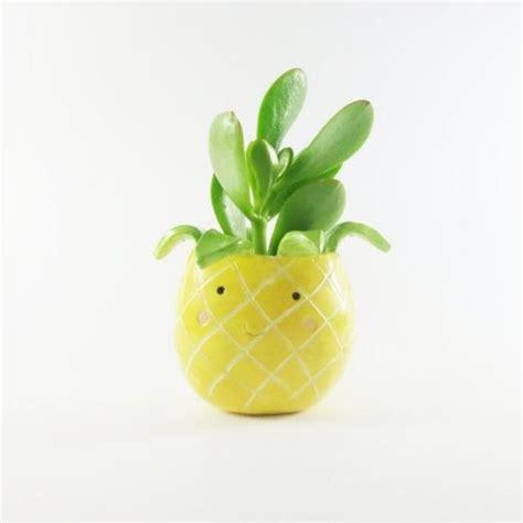 pineapple pot ceramic planter fruit shaped plant pot 2525921 weddbook