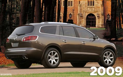 2009 Buick Enclave 2009 buick enclave information and photos momentcar