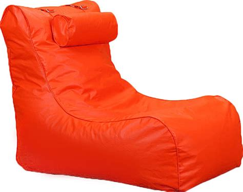 Ergonomic Living Room Chair Uk by Xxl Relax Leather Beanbag High Back Head Rest Chair Gamer