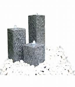 Lichter Für Den Garten : dehner granit gartenbrunnen nizza 56 x 56 x 77 cm dehner ~ Sanjose-hotels-ca.com Haus und Dekorationen