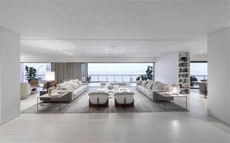 salon canap blanc déco salon blanc pour une atmosphère accueillante 80 idées