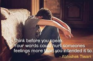 Words Hurt More Than Actions Quotes, Quotations & Sayings 2018