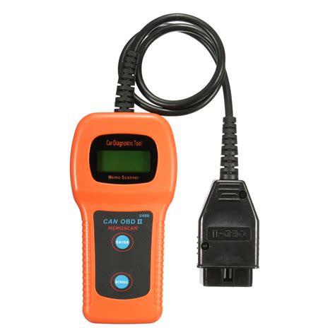 Car Diagnostic Scanner Tool U480 Can Obdii Obd2 Memo