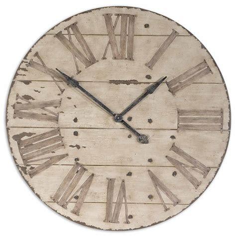 Uttermost Wall Clocks by Uttermost 06671 Harrington 36 Quot Wooden Wall Clock 301 40