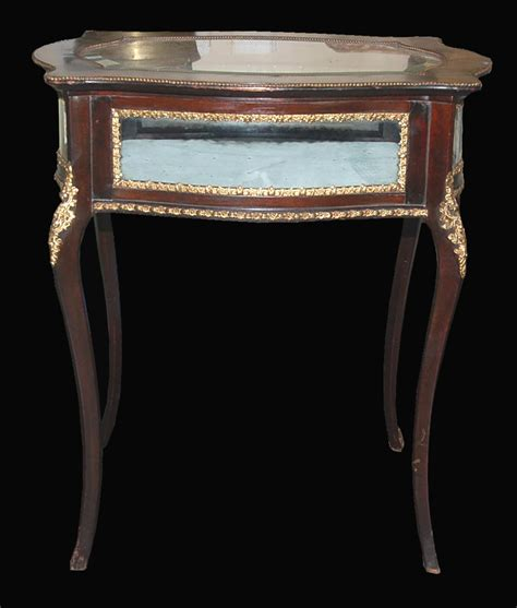 antique table ls for sale french vitrine table for sale antiques com classifieds