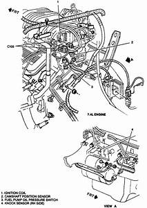 Location Of Camshaft Sensor 97 Chevy K2500 454 Engine