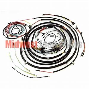 Jeep Part 809464 Complete Cloth Covered Wiring Harness Kit