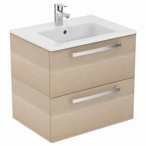 meuble 60 cmet lavabo plan e3256 With meuble salle de bain porcher