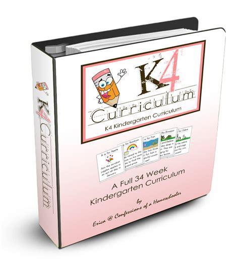 homeschooling preschoolers free curriculum k4 curriculum confessions of a homeschooler 245