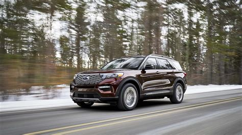 ford explorer revealed sleeker stronger loaded