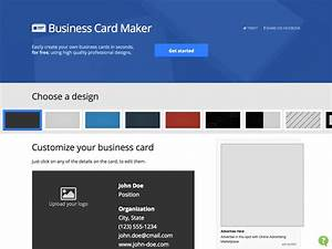 What39s new for designers october 2013 webdesigner depot for Easy business card maker