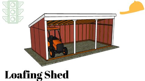 loafing shed plans free free loafing shed plans