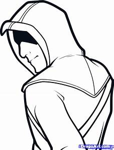 How to Draw Altair Easy, Assassins Creed, Step by Step ...