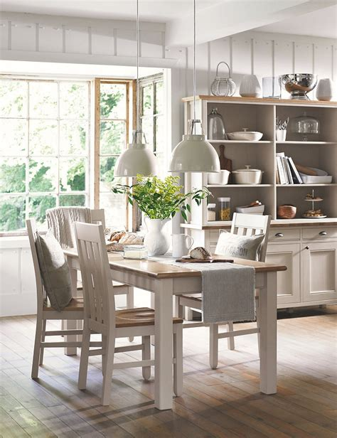 marks and spencer kitchen furniture wood dining tables look even better when aged gracefully homegirl london