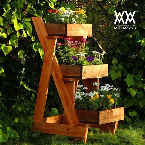 tier planter woodworking  mere mortals
