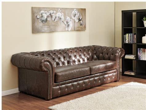 canapé chesterfield photos canapé chesterfield convertible cuir