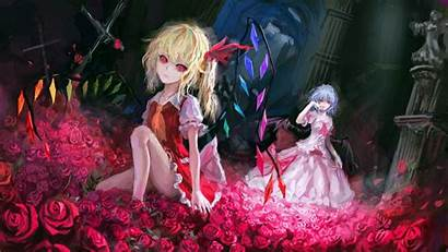Scarlet Flandre Remilia Touhou Anime Character Wallhaven