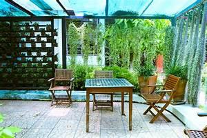 Sichtschutz Mit Pflanzen : sichtschutz f r die terrasse mit pflanzen sch ne ideen ~ Michelbontemps.com Haus und Dekorationen
