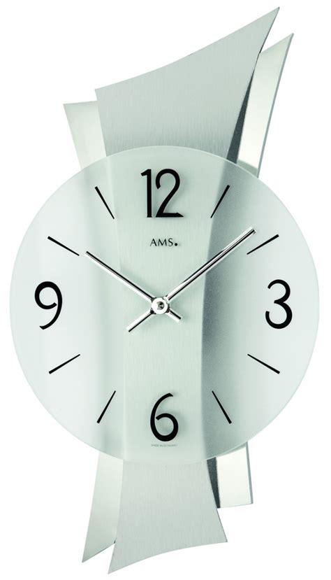 horloge de cuisine originale pendule murale moderne alu ultra design la maison de la