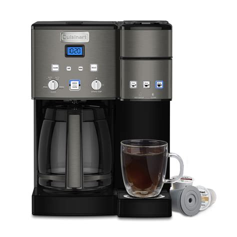 Our list contains coffee makers suited for your specific. Cuisinart Coffee Makers Coffee Center? 12 Cup Coffeemaker and Single-Serve Brewer - Walmart.com ...