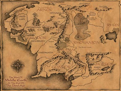 Cool Book Maps Of Fictional Worlds And How To Use Them