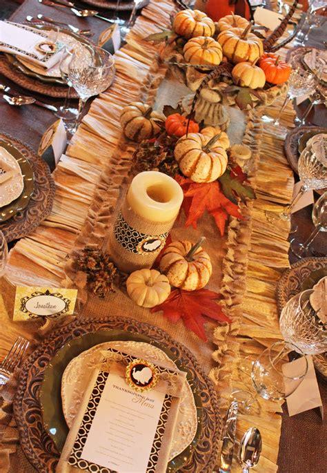 Amanda's Parties To Go Thanksgiving Decorating Ideas