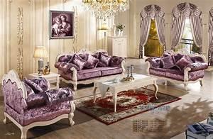 Sofa Amerikanischer Stil : 3 2 1 purple fabric sofa set living room furniture modern ~ Michelbontemps.com Haus und Dekorationen