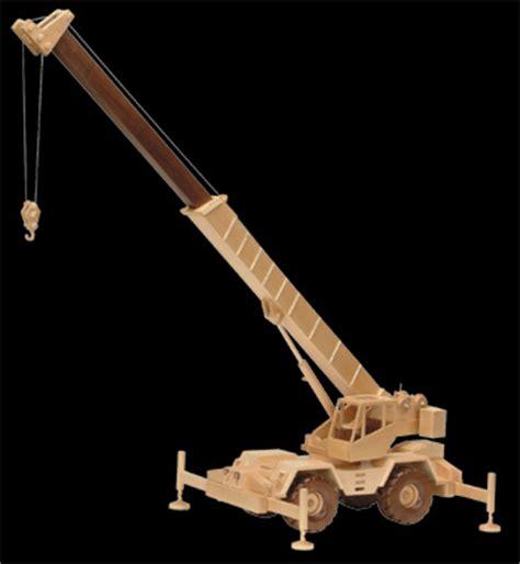 construction crane wood plans