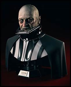 Darth Vader Unmasked Bust by SaiogaMan on DeviantArt