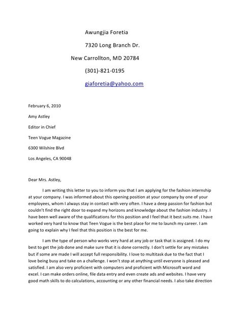 cover letter template teenager  cover letter template
