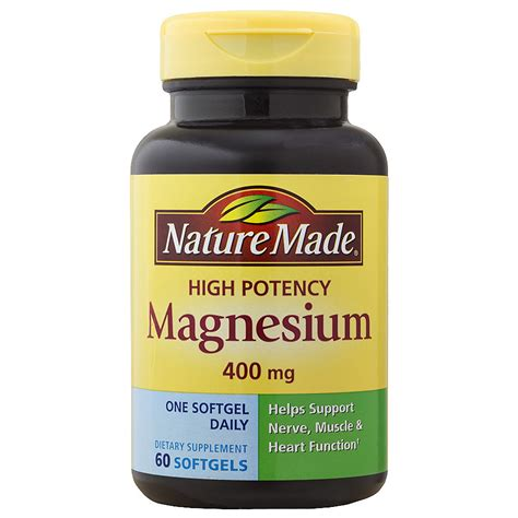 60 in tv deals nature made magnesium 400 mg dietary supplement liquid