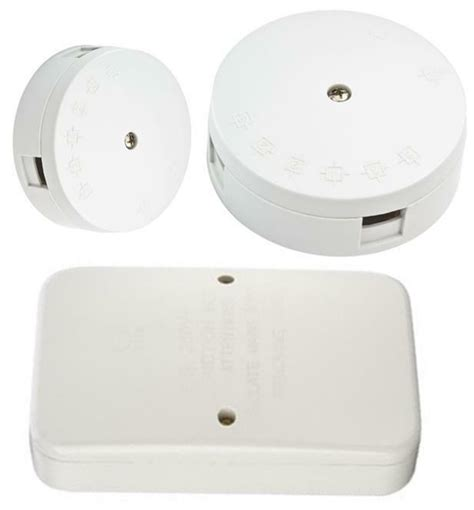 all white junction boxes 2 3 4 6 terminals 5 20 30 60 ebay