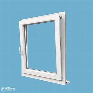 Fenetre pvc gamme confort a 1 vantail ouvrant oscillo battant for Devis pour fenetre double vitrage pvc