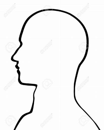 Outline Head Face Human Drawing Profile Silhouette