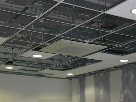 Installing A Ceiling by How To Install A Suspended Ceiling Kansas City
