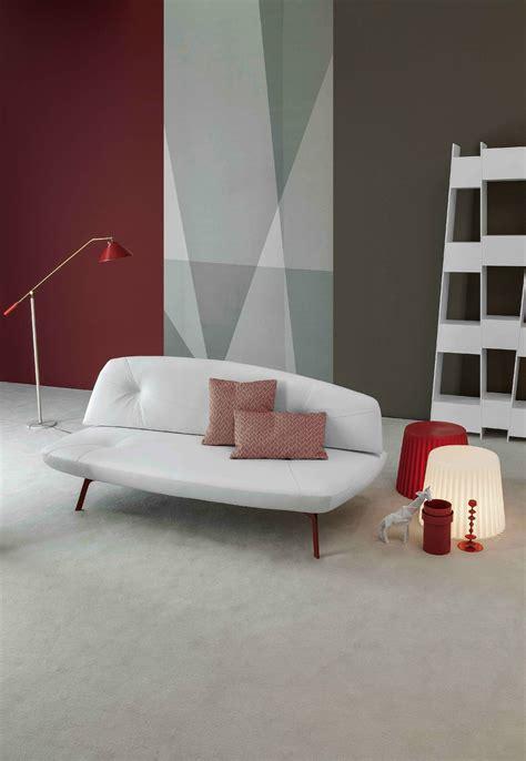 canapé lit convertible en tissu bandy by bonaldo design